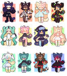 Fluffy Adopts - Set Prices -CLOSD (pts and paypal)