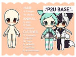 [ P2U ] Chibi Base Pack - 75+ Accessories! by AlveraAdopts