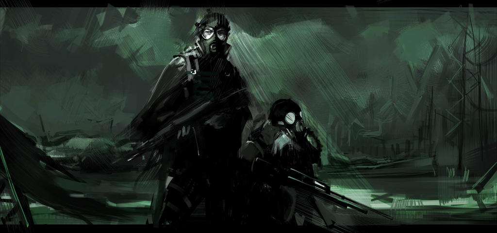 Metro 2033 by AndyAlbarn