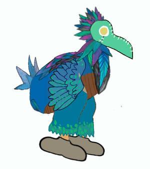 Dawhk the dodo bird