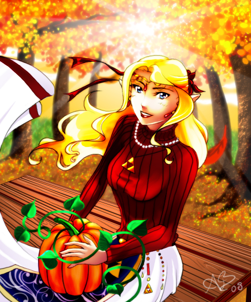 Fall Maiden by UNIesque