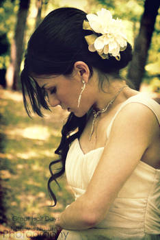 . Bridal Curls .