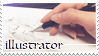Illustrator Stamp by UNIesque