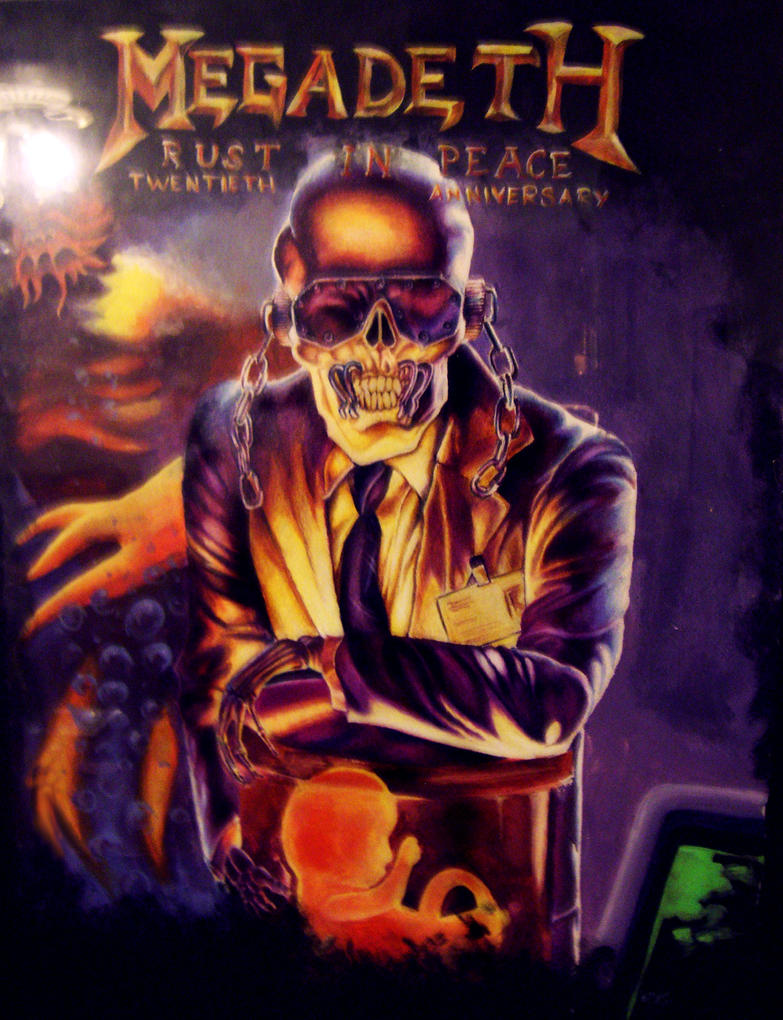 Megadeth Rust In Peace Wallpaper Images