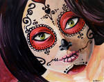 Calavera Girl by kmt95