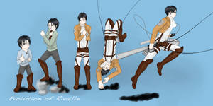 Rivaille's Evolution