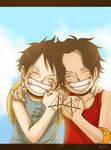 Ace+Lu (for AnimeLegacy) by KAI314