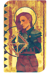 Tarot Commission - Siba Cadash by ibbitmonster
