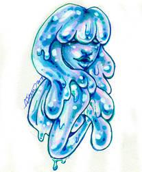 Slime Girl - Blueberry