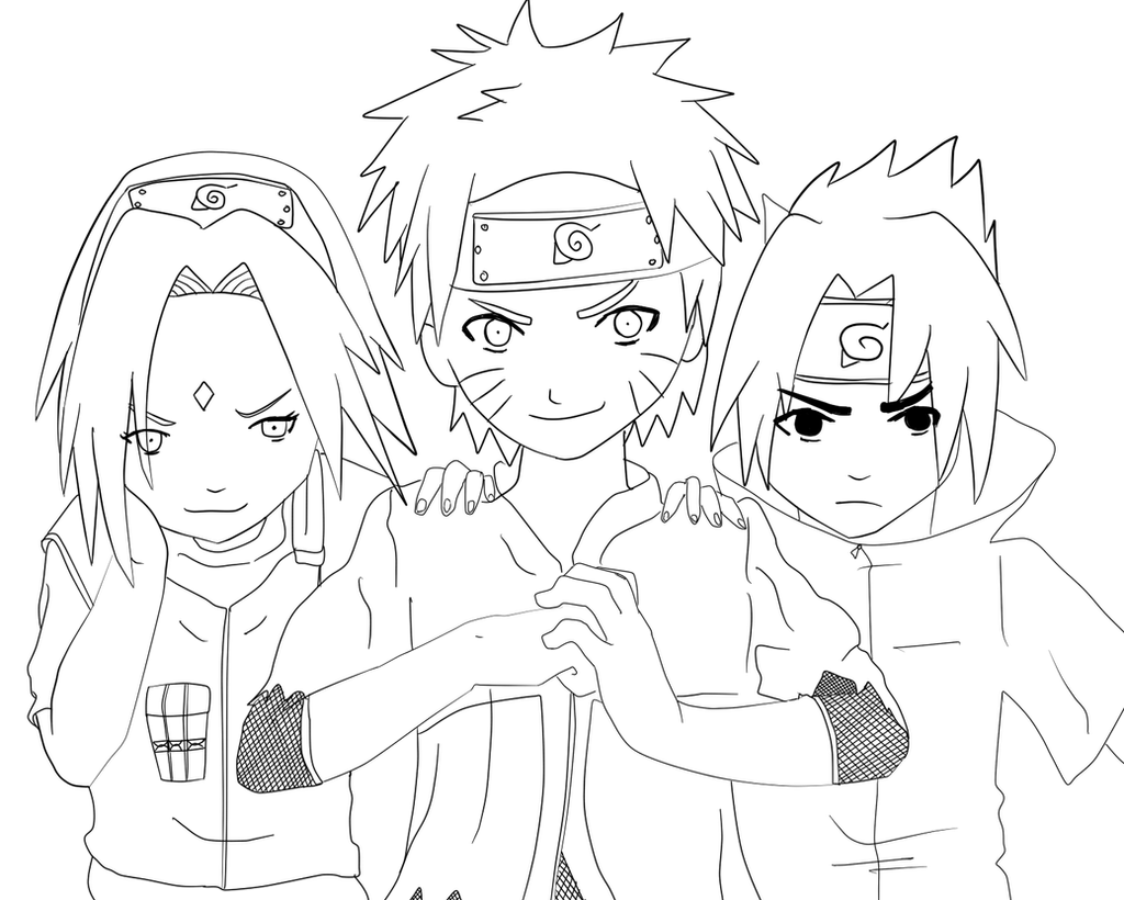 Team 7 Revival LINEART by attisalatti on DeviantArt