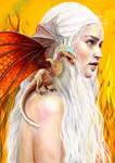 the khaleesi . by Katyaiwan