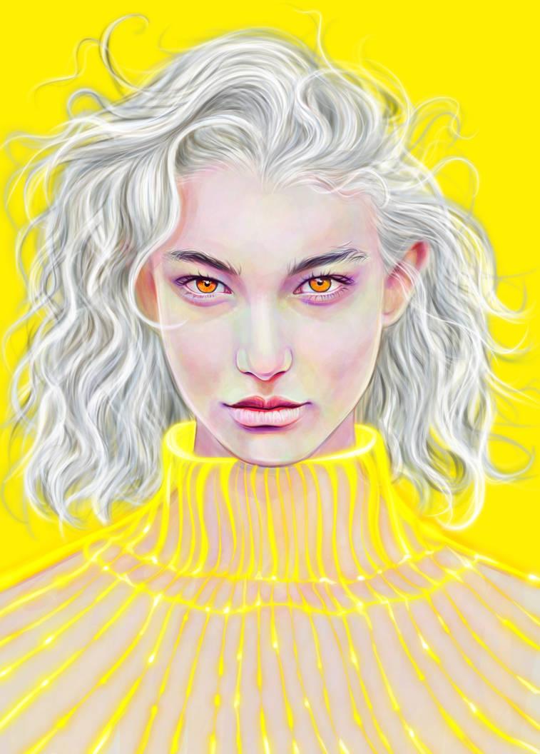 Yellow mood by Katyaiwan