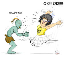 Oddworld : Follow me! by Khaneety