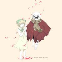 NieR Replicant : Innocent friendship by Khaneety