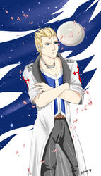 Seifer Almasy - The man and the Moon by Khaneety