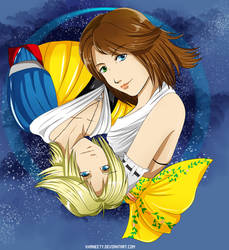Tidus and Yuna - Just a Dream by Khaneety