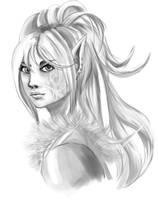 Elf-sorceress-1 by Khaneety