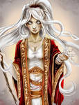 Sorceress - Pathfinder Elf