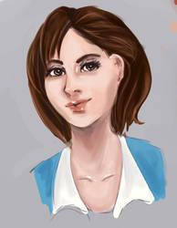Ellone portrait by Khaneety