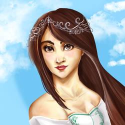 Princess Grenat - FF IX by Khaneety