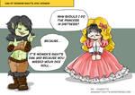 Mini-comics : women's rights day, RPG version by Khaneety