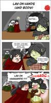 RPG comic strip - Lay on hands
