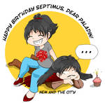 RPG birthday - happy birthday paladin!