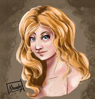 Portrait training by Khaneety