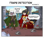 Traps detection by Khaneety