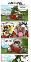 Comic strip - Magic kiss by Khaneety