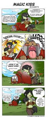 Comic strip - Magic kiss