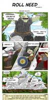 Comic strip - Scroll Need by Khaneety