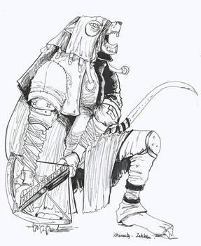 Inktober 2 : Krack the Skaven