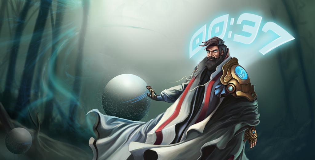 Skin lendária proposta por TheOvermind, embora seja uma proposta de skin, nela podemos ver que até mesmo o mago do tempo pode ser mais moderno, estiloso e interessante, seja para os jogadores antigos ou os novos.