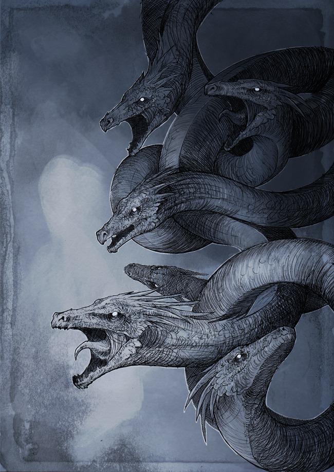 Hydra by Woari on DeviantArt
