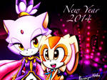 Happy New Year! - Blaze and Cream