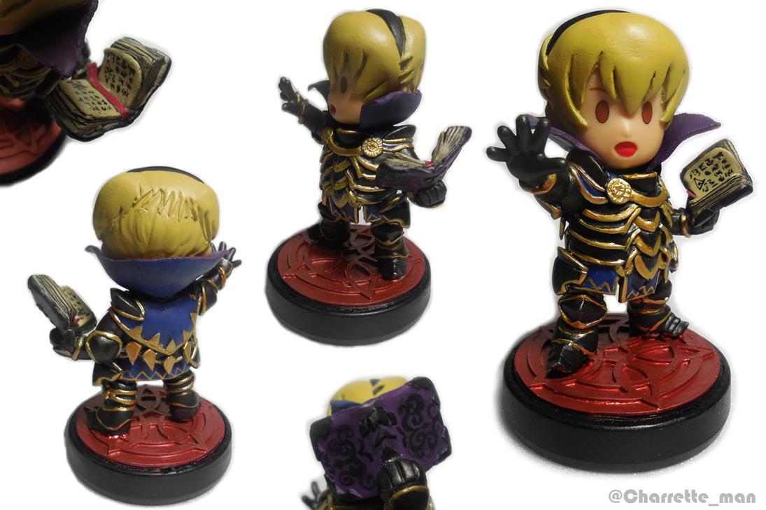 amiibo custom Leo - Fire Emblem Heroes by CharretteMan