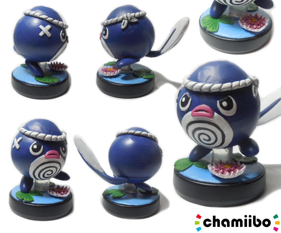 amiibo custom Ptitard (Poliwag) by CharretteMan