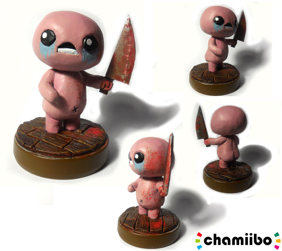 chamiibo Isaac (V2) from The Binding of Isaac by CharretteMan