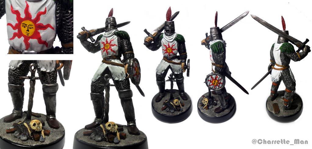 amiibo custom Solaire of Astora (Dark Souls) by CharretteMan