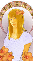 Art nouveau - Lily