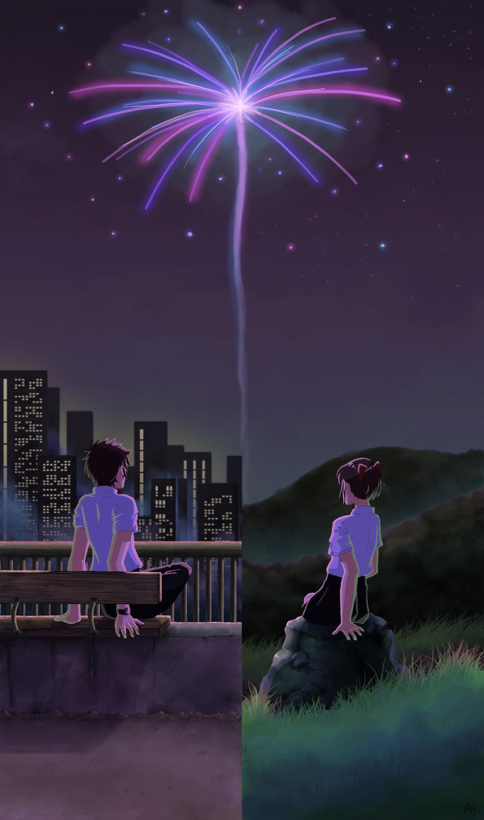 kimi no na ha - Your Name by Carreauline