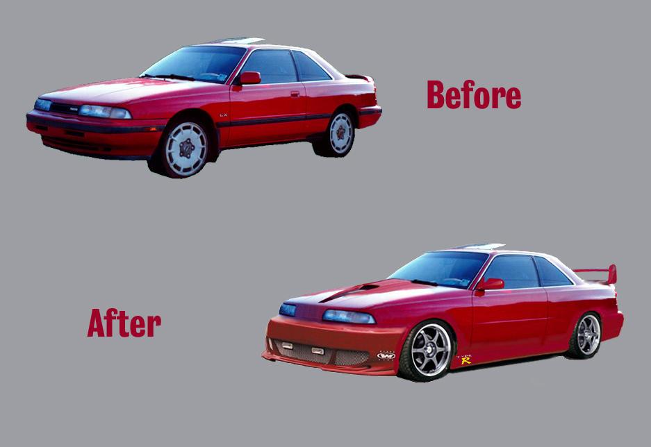 88 Mazda MX-6 mod by shark3000 on DeviantArt