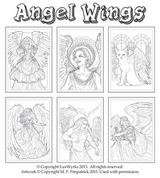 AngelWings cards by MPFitzpatrick
