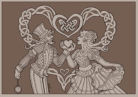 Steampunk Valentine by MPFitzpatrick