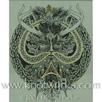 Celtic Greenman _1996? by MPFitzpatrick