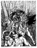 The Wild Hunt by MPFitzpatrick