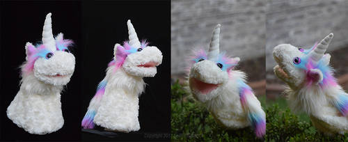 Unicorn puppet by MPFitzpatrick
