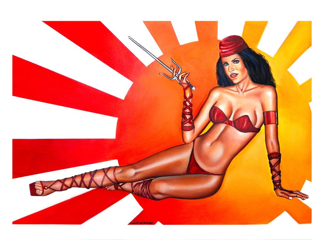 Pubg By Sodano On Deviantart: Elektra By Chrisroma On DeviantArt