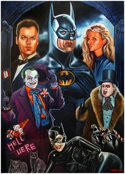 BATMAN (Tim Burton Movies)